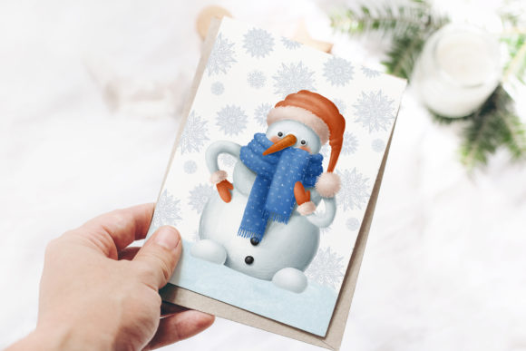 Print on Demand: Winter Characters Graphic Illustrations By Architekt_AT - Image 4