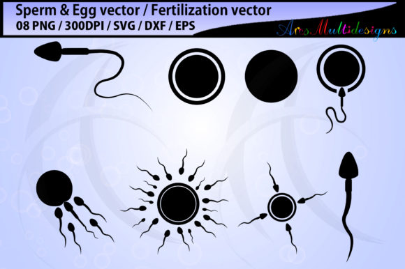 Print on Demand: Fertilization Vector Graphic Illustrations By Arcs Multidesigns - Image 1