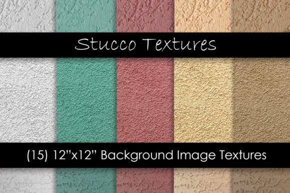 Southwest Stucco Wall Textures Graphic