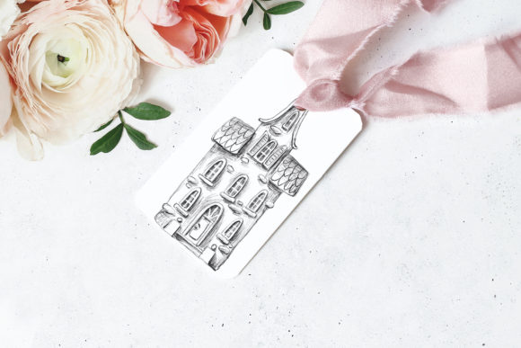 Download Free House Sketch Clipart Set Graphic By Architekt At Creative Fabrica for Cricut Explore, Silhouette and other cutting machines.