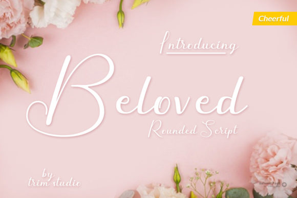 Print on Demand: Beloved Script & Handwritten Font By Trim Studio