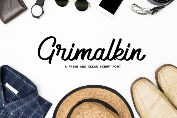 Print on Demand: Grimalkin Script & Handwritten Font By Fype Co.