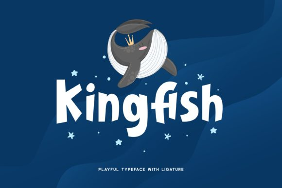Print on Demand: Kingfish Display Font By Fype Co.