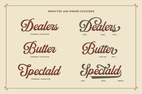 Print on Demand: Neville Display Font By Runsell Graphic - Image 8