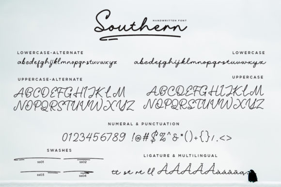 Print on Demand: Southern Script & Handwritten Font By EmbunStudio - Image 9
