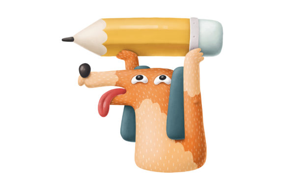 Print on Demand: Cartoon Dog Characters Graphic Illustrations By Architekt_AT - Image 9