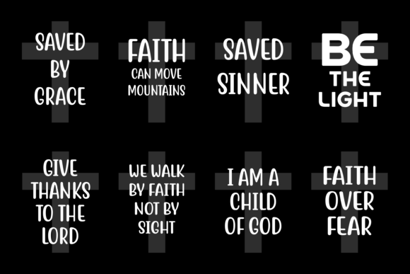 Download Free Bible Quotes Bundle Graphic By Colorsplash Creative Fabrica SVG Cut Files