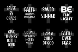 Download Free Bible Quotes Bundle Graphic By Colorsplash Creative Fabrica for Cricut Explore, Silhouette and other cutting machines.