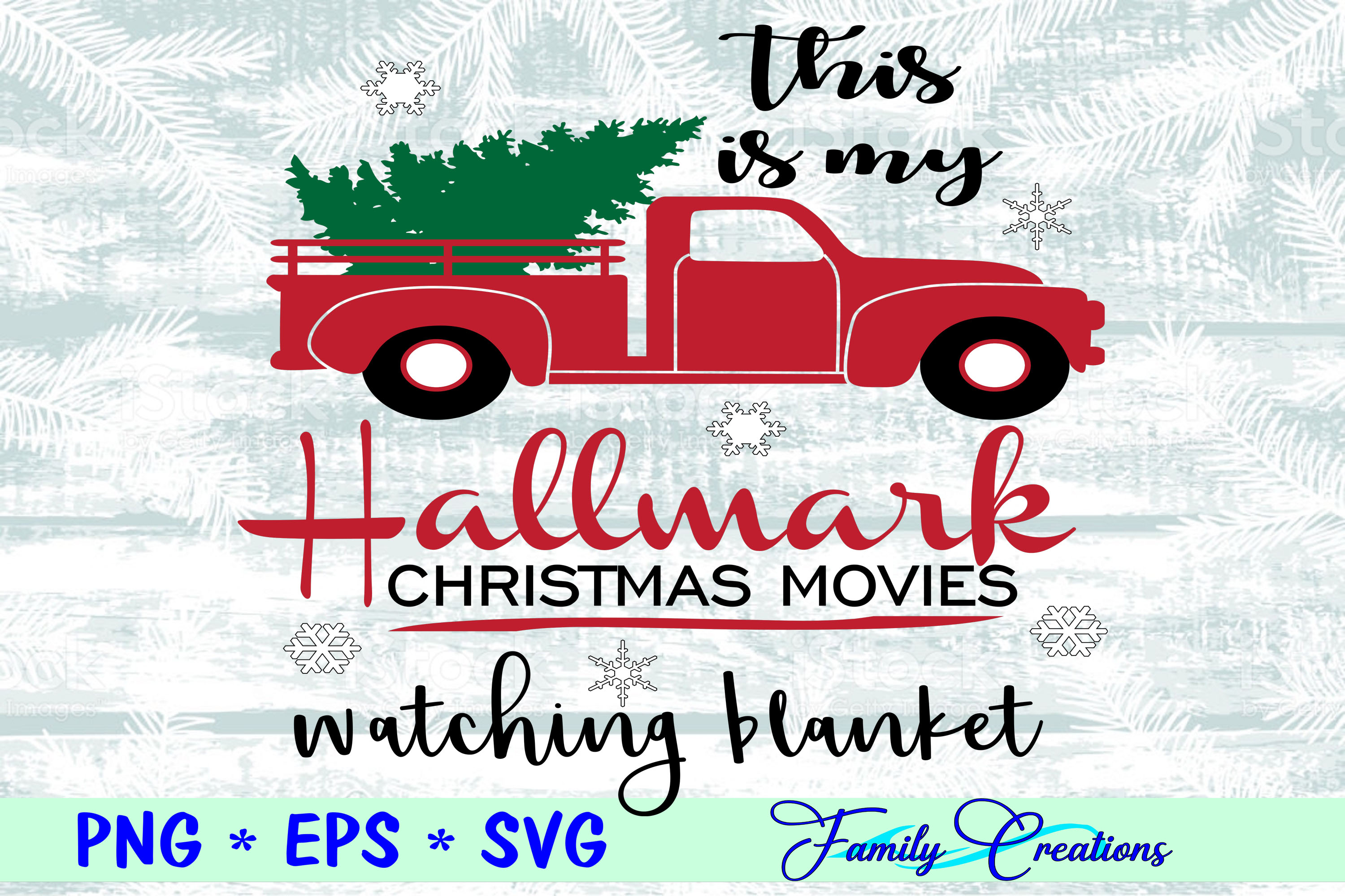 Download Free This Is My Hallmark Christmas Movies Graphic By Family Creations for Cricut Explore, Silhouette and other cutting machines.