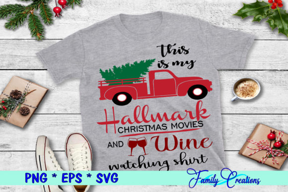 This is My Hallmark Christmas Movies Graphic Crafts By Family Creations