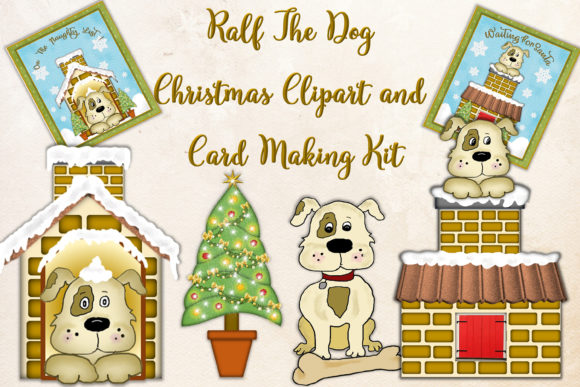 Print on Demand: Christmas Card Making Kit Plus Clipart Graphic Crafts By The Paper Princess