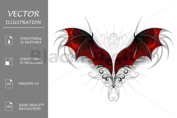 Wings of Dragon Graphic Illustrations By Blackmoon9