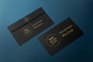 Download Free Luxury Black Gold Envelope Mockup Graphic By Suedanstock Creative Fabrica for Cricut Explore, Silhouette and other cutting machines.