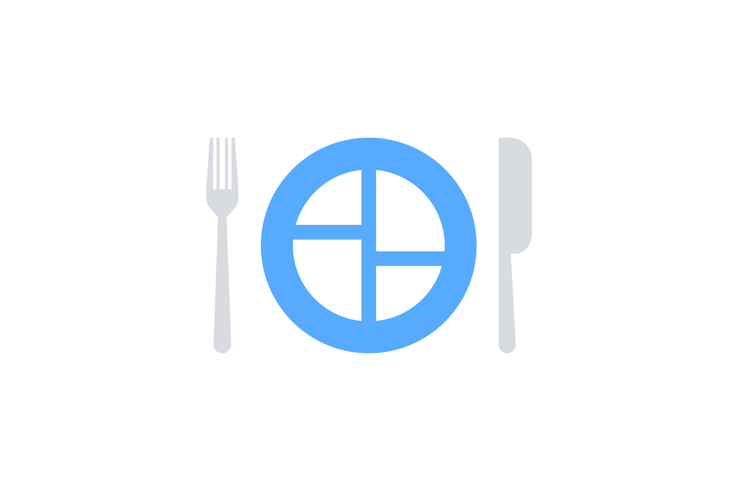 Download Free Plate And Spoon Flat Icon Vector Graphic By Riduwan Molla for Cricut Explore, Silhouette and other cutting machines.