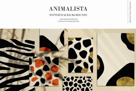 Animalista - Patterns Collection Graphic Patterns By Madiwaso
