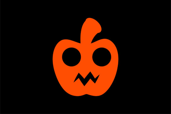 Download Free Halloween Pumpkin Flat Vector Icon Graphic By Riduwan Molla for Cricut Explore, Silhouette and other cutting machines.