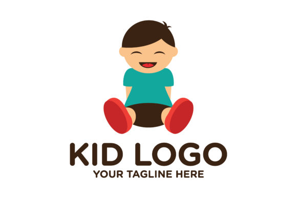 Download Free Kid Logo Design Graphic By Nuranitalutfiana92 Creative Fabrica for Cricut Explore, Silhouette and other cutting machines.