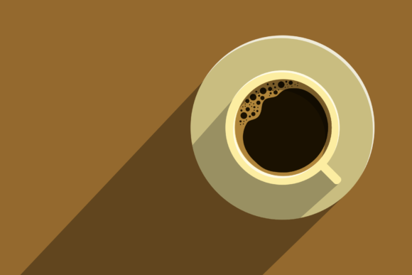 Print on Demand: Coffee Flat Design Graphic Illustrations By sandylukee