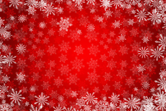 Red Christmas Background Graphic Backgrounds By elinorka - Image 2