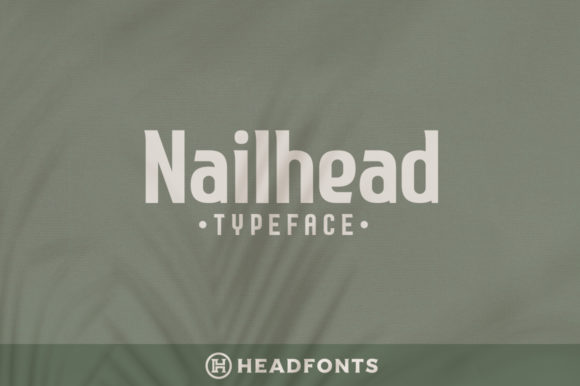 Print on Demand: Nailhead Serif Font By Headfonts