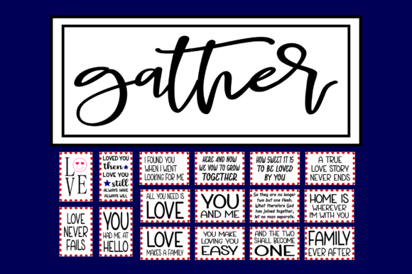 Download Free Love Quotes And Table Numbers Graphic By Colorsplash Creative SVG Cut Files