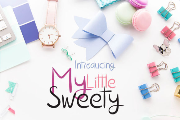 Print on Demand: My Little Sweety Script & Handwritten Font By 3Motional