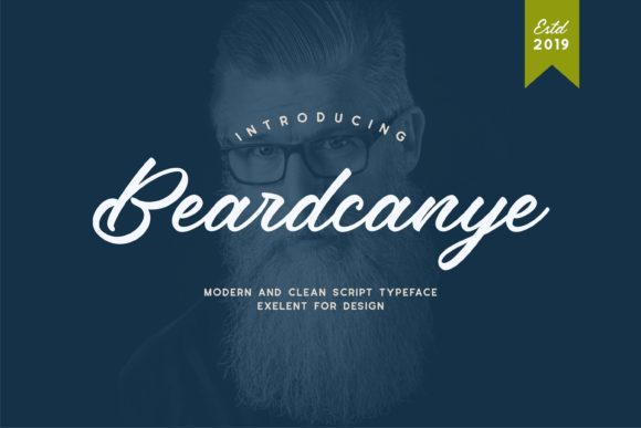 Print on Demand: Beardcanye Display Schriftarten von Fype Co.