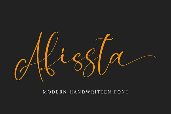 Print on Demand: Afissta Script & Handwritten Font By missinklab