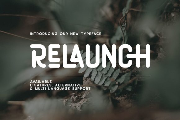 Print on Demand: Relaunch Display Font By Fype Co.