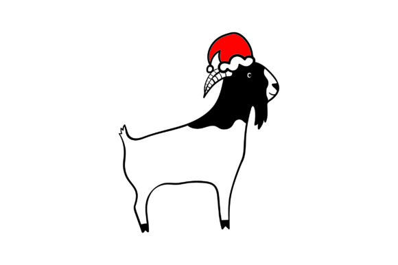 Download Free Christmas Boer Goat Svg Cut File By Creative Fabrica Crafts for Cricut Explore, Silhouette and other cutting machines.