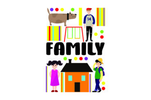 Family Subway Art Craft Cut File By Creative Fabrica Crafts