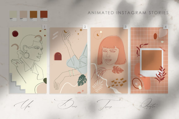 14 Mon Amour Animated Stories Graphic Illustrations By NassyArt - Image 2