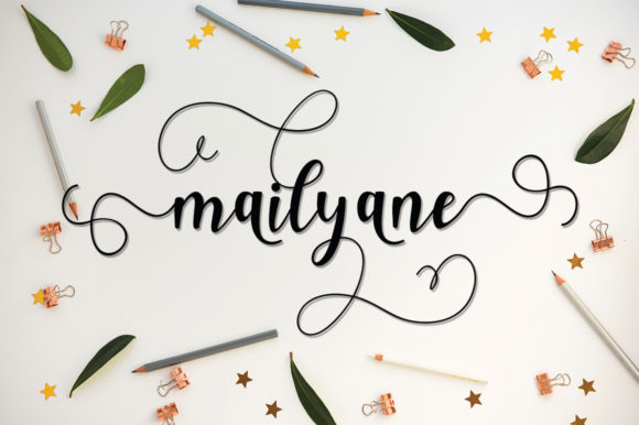 Print on Demand: Faleshty Script & Handwritten Font By MYdesign - Image 3