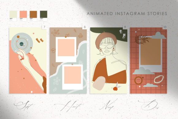14 Mon Amour Animated Stories Graphic Illustrations By NassyArt - Image 4