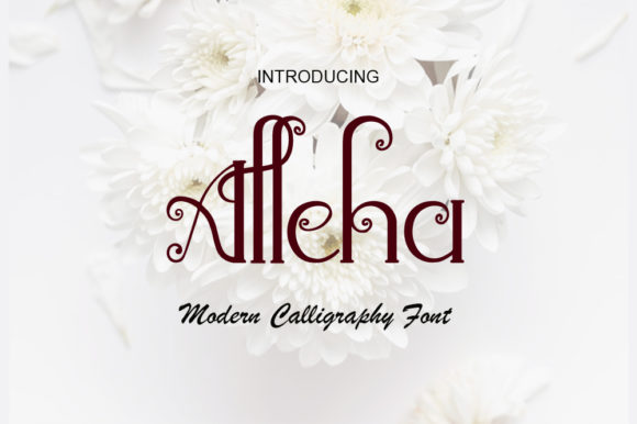 Print on Demand: Alleha Script & Handwritten Font By NeutroneLabs