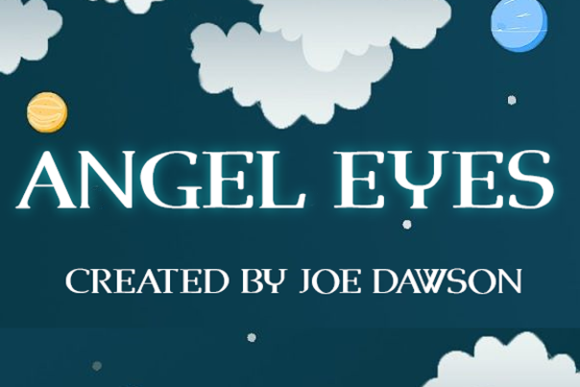 Print on Demand: Angel Eyes Sans Serif Font By Joe Dawson