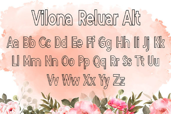 Print on Demand: Vilona Script & Handwritten Font By Nico Muslib - Image 9