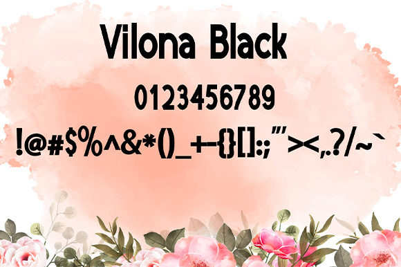 Print on Demand: Vilona Script & Handwritten Font By Nico Muslib - Image 11