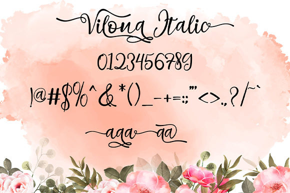 Print on Demand: Vilona Script & Handwritten Font By Nico Muslib - Image 13
