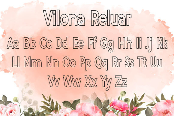 Print on Demand: Vilona Script & Handwritten Font By Nico Muslib - Image 7