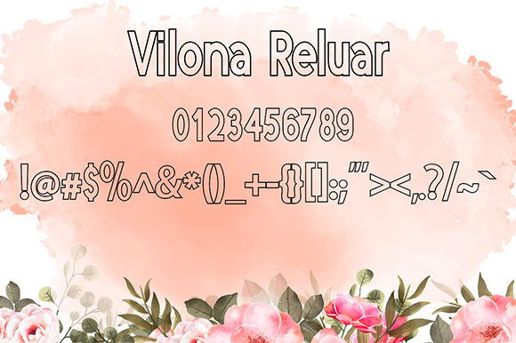 Print on Demand: Vilona Script & Handwritten Font By Nico Muslib - Image 8