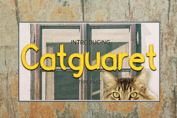 Print on Demand: Catguaret Sans Serif Font By JM_Graphics