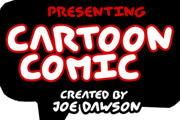 Print on Demand: Cartoon Comic Display Font By Joe Dawson - Image 2