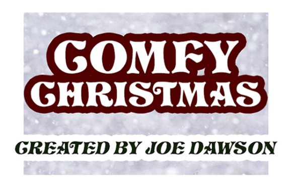 Print on Demand: Comfy Christmas Display Font By Joe Dawson