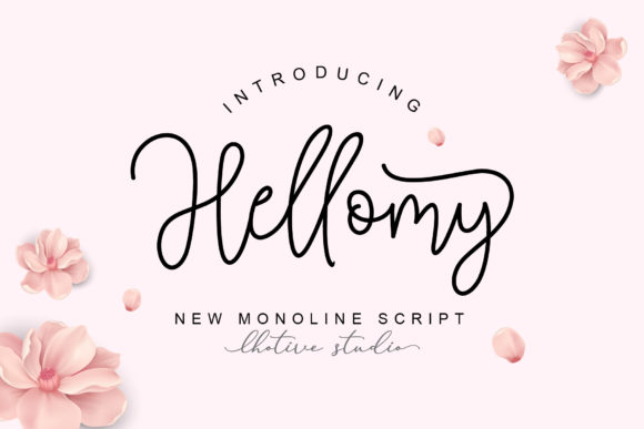 Print on Demand: Hellomy Script & Handwritten Font By lhotive