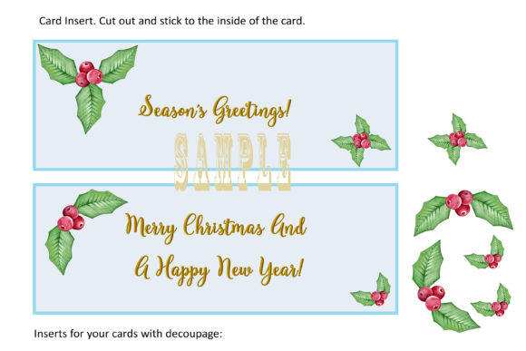 Print on Demand: Christmas Gnome Card Making Kit 3 Design Graphic Crafts By The Paper Princess - Image 8