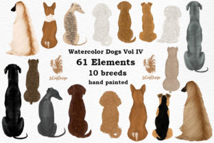 Print on Demand: Dog Clipart Graphic Illustrations By LeCoqDesign