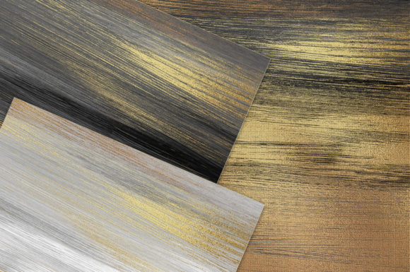 Print on Demand: Gold Watercolor & Oil Paint Collections Graphic Textures By Creative Paper - Image 9