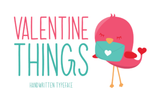 Download Free Valentine Things Font By Instagram Fonts Creative Fabrica for Cricut Explore, Silhouette and other cutting machines.