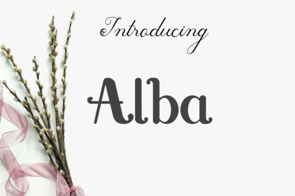 Print on Demand: Alba Script & Handwritten Font By epicomediamedia